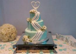 Swag Wedding Cake