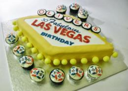 Las Vegas Sign Cake - Quality Cake Company Tamworth