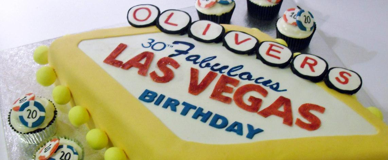 Las Vegas Cake - Quality Cake Company Tamworth