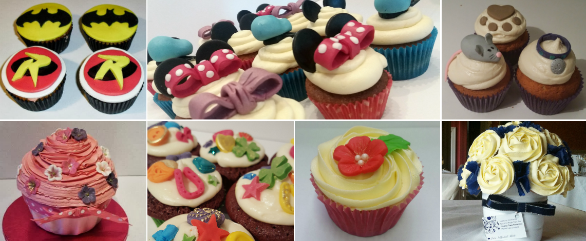 Cupcake designs - Quality Cake Company Tamworth
