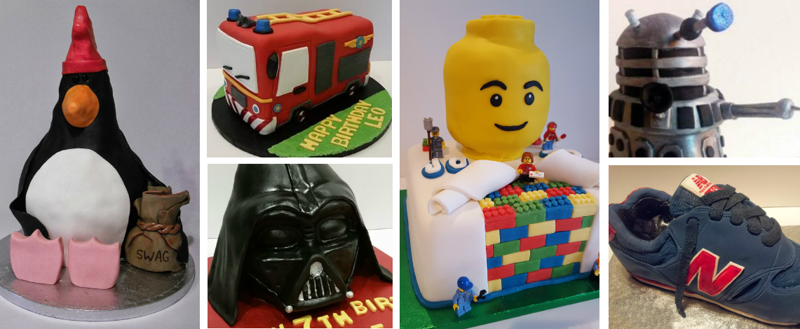 Novelty Sculpted cake designs - Quality Cake Company Tamworth