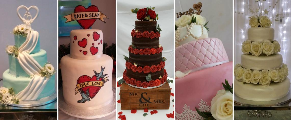 Wedding cake designs - - Quality Cake Company Tamworth