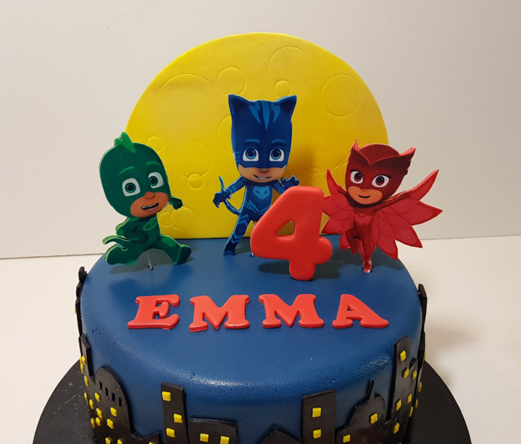 Pj Birthday Cake