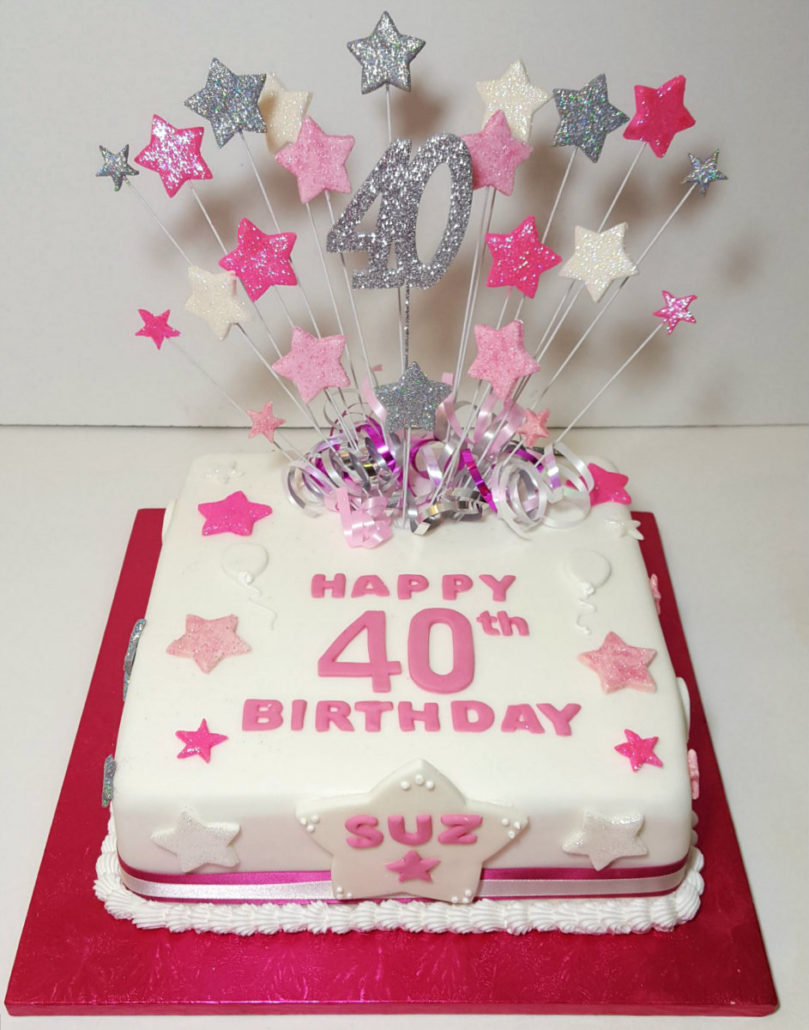 40th Birthday Party Supplies Quality Cake Company Tamworth