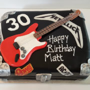 guitar case birthday cake tamworth