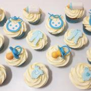 new baby boy christening cupcakes tamworth