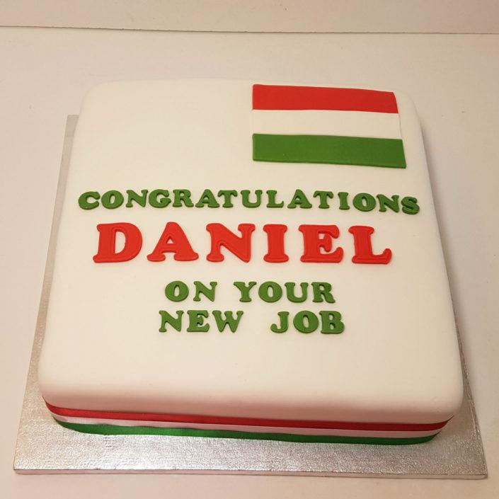 congratulations on new job celebration cake tamworth