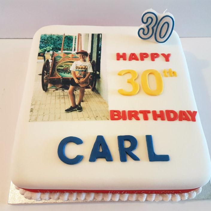 30th birthday cake tamworth