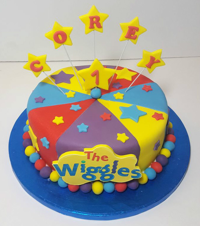 Wiggles Birthday Cake Supplies