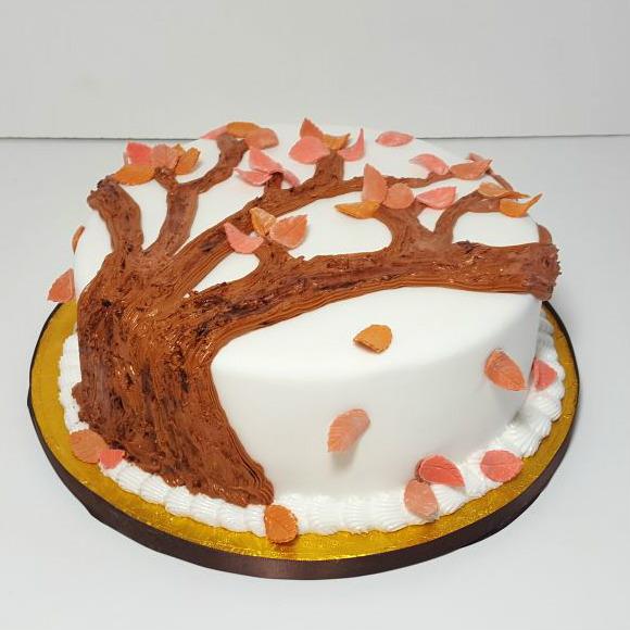 Autumn leaves cake - Tamworth