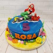 Little Mermaid with Sebastian & Flounder children's birthday cake Tamworth