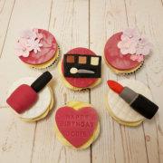 Makeup cupcakes - Tamworth