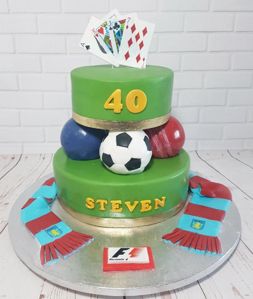 Sport Themed Cakes Quality Cake Company Tamworth