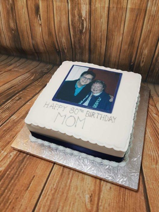 Photo printed cake shakin stevens - tamworth